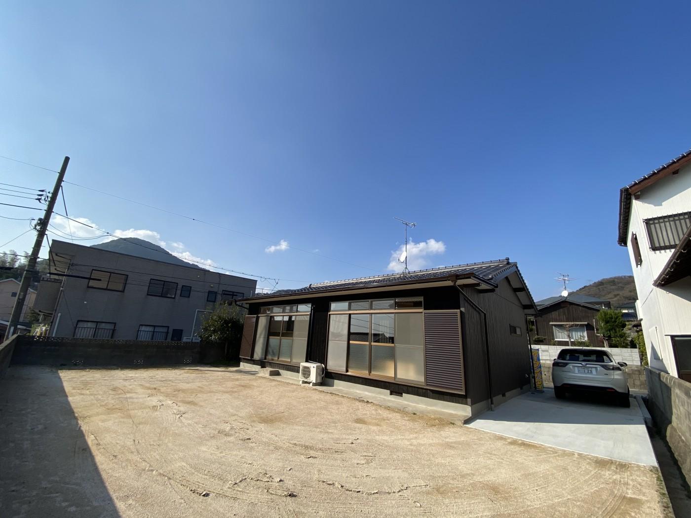角地!駐車場複数!田倉御殿町の平屋!